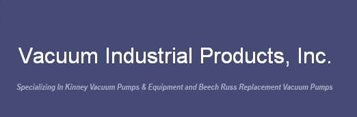 specializing in Kinney Vacuum Pumps and Gauges